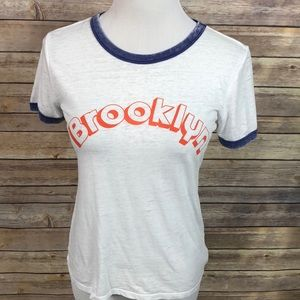 Forever 21 Brooklyn Ringer Tee Small